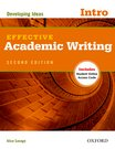 Effective Academic Writing  Introductory Student Book
