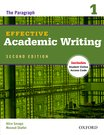 Effective Academic Writing  1 Student Book