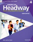 American Headway Four Student Book with Online Skills