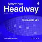 American Headway Second Edition Level 4 Class Audio CDs (X3)