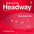 American Headway Second Edition Level 1 Class Audio CDs (X3)