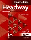 New Headway Elementary Fourth Edition Workbook + Audio CD with Key