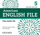 American English File Level 5 Class Audio CDs