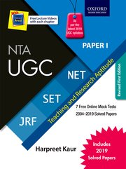 Oxford NTA UGC Paper I for NET/SET/JRF