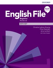 English File 4E Beginner Workbook with Key