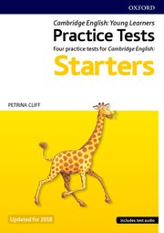 Cambridge English Qualifications Young Learners Practice Tests Pre A1 Starters Pack