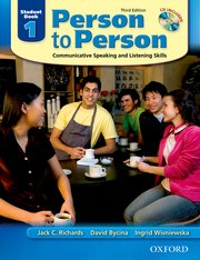 Person to Person, Third Edition Level 1 Student Book (with Student Audio CD)