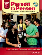 Person to Person, Third Edition Level 2 Student Book (with Student Audio CD)