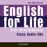 English For Life Pre-Intermediate: Class Audio Cds (3 Discs)