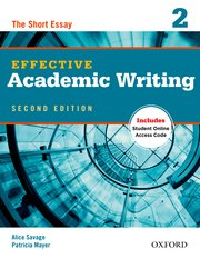Effective Academic Writing  2 Student Book