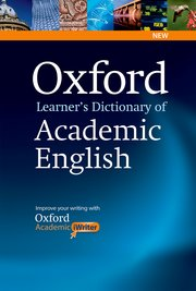 Oxford Learner's Dictionary of Academic English with CD-ROM