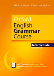 OXFORD ENGLISH GRAMMAR COURSE INTERMEDIATE WITH KEY (WITH EBOOK)