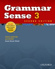 Grammar Sense 3 Student Book with Online Practice Access Code Card