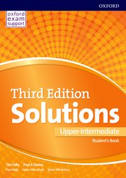 Solutions 3E Up-Intermediate Student's Book And Online Practice Pack