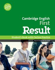 Cambridge English: First Result Student's Book and Online Practice Pack