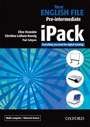 New English File Pre-Intermediate iPack (single user version)