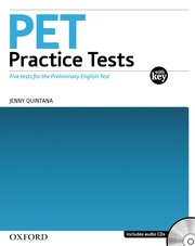 PET Practice Tests: Practice Tests With Key and Audio CD Pack