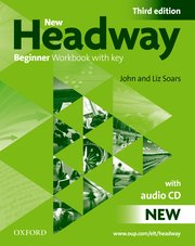 New Headway Beginner Workbook with Key and Audio Pack