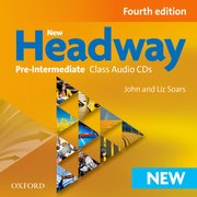 New Headway Pre-Intermediate Fourth Edition Class Audio CDs