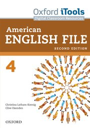 American English File Level 4 iTools DVD ROM