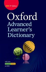 Oxford Advanced Learner's Dictionary Hardback with DVD - ROM