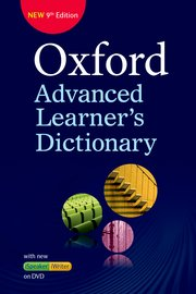 Oxford Advanced Learner's Dictionary Paperback with DVD - ROM