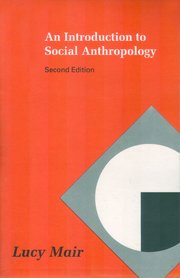Introduction to Social Anthropology (Cult)
