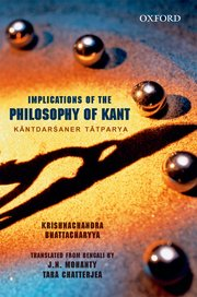 Implications of the Philosophy of Kant