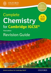 Complete Chemistry for Cambridge IGCSE Revision Guide  2014