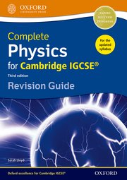 Complete Physics for Cambridge IGCSE Revision Guide  2014
