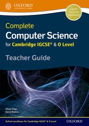 Complete Computer Science for Cambridge IGCSE® & O Level Teacher Resource Pack