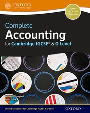 Complete Accounting For Cambridge IGCSE & O Level Student Book