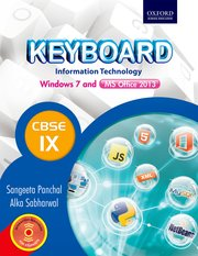 Keyboard Windows 7 and MS Office 2013 Book 9