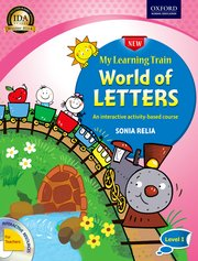 New My Learning Train World of Letters LKG