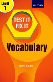 Test IT Fix IT Vocabulary Level 1