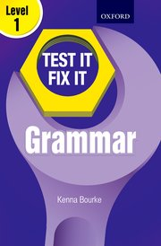 Test IT Fix IT Grammar Level 1
