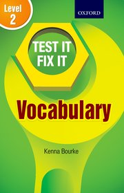 Test IT Fix IT Vocabulary Level 2