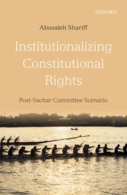 Institutionalizing Constitutional Rights