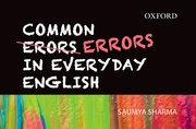Common Errors in Everyday English