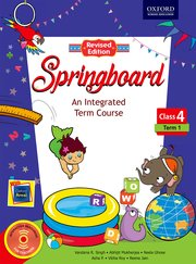Springboard Class 4, Term 1 (Revised Edition)