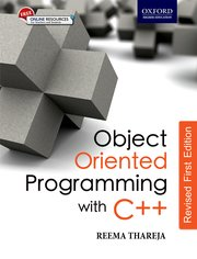 Object Oriented Programming with C++