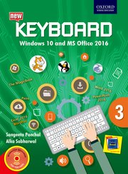 Keyboard Windows 10 and MS Office 2016 Class 3