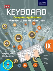 Keyboard Windows 10 and MS Office 2016 Class 9
