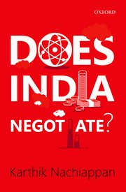 Does India Negotiate?