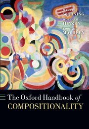 The Oxford Handbook of Compositionality