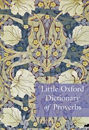 Little Oxford Dictionary Of Proverbs 1e