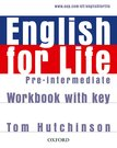 English For Life: Pre-Intermediate. Workbook With Key
