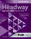 New Headway Upper-Intermediate Fourth Edition Teacher's Book + Teacher's Resource Disc