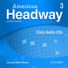 American Headway Second Edition Level 3 Class Audio CDs (X3)