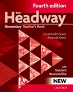 New Headway Elementary Fourth Edition Teacher's Book + Teacher's Resource Disc